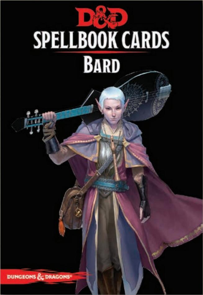 D&D: Bard Deck (128 Cards)