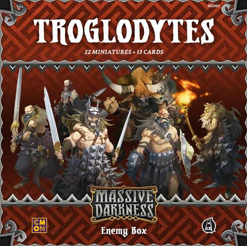 Troglodytes Enemy Box: Massive Darkness