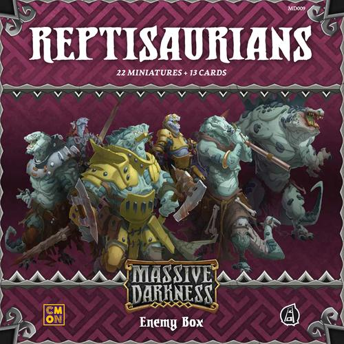 Reptisaurians Enemy Box: Massive Darkness