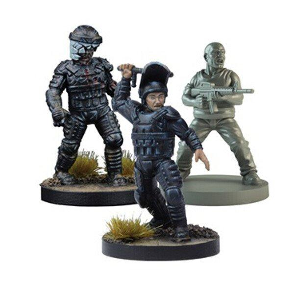Glenn Prison Guard Booster: The Walking Dead All Out War Miniatures Game Exp.