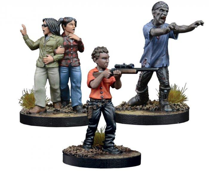Maggie Prison Guard Booster: The Walking Dead All Out War Miniatures Game Exp.