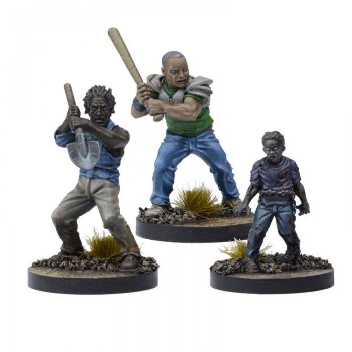Morgan, Distraught Father Booster: The Walking Dead All Out War Miniatures Game Exp.
