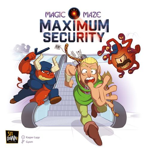 Maximum Security: Magic Maze expansion
