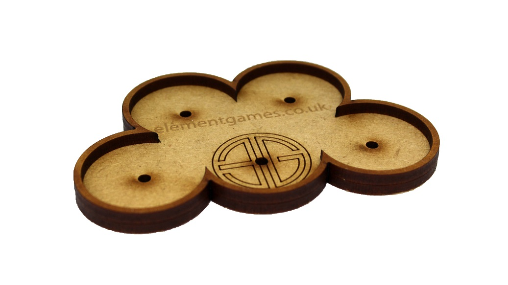 Element 32mm Movement Trays with Magnets - Cloud