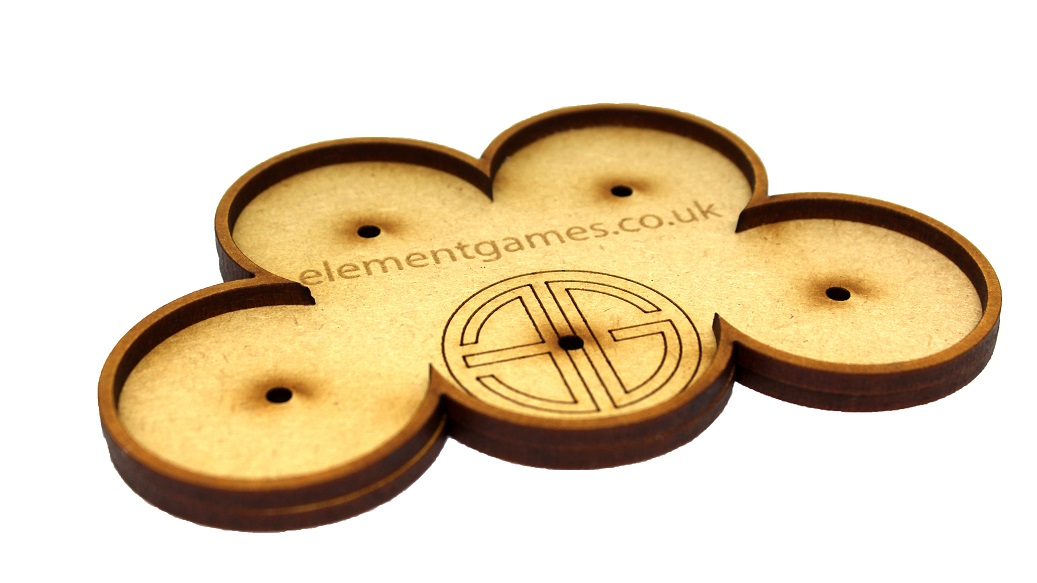 Element 40mm Movement Trays with Magnets - Cloud