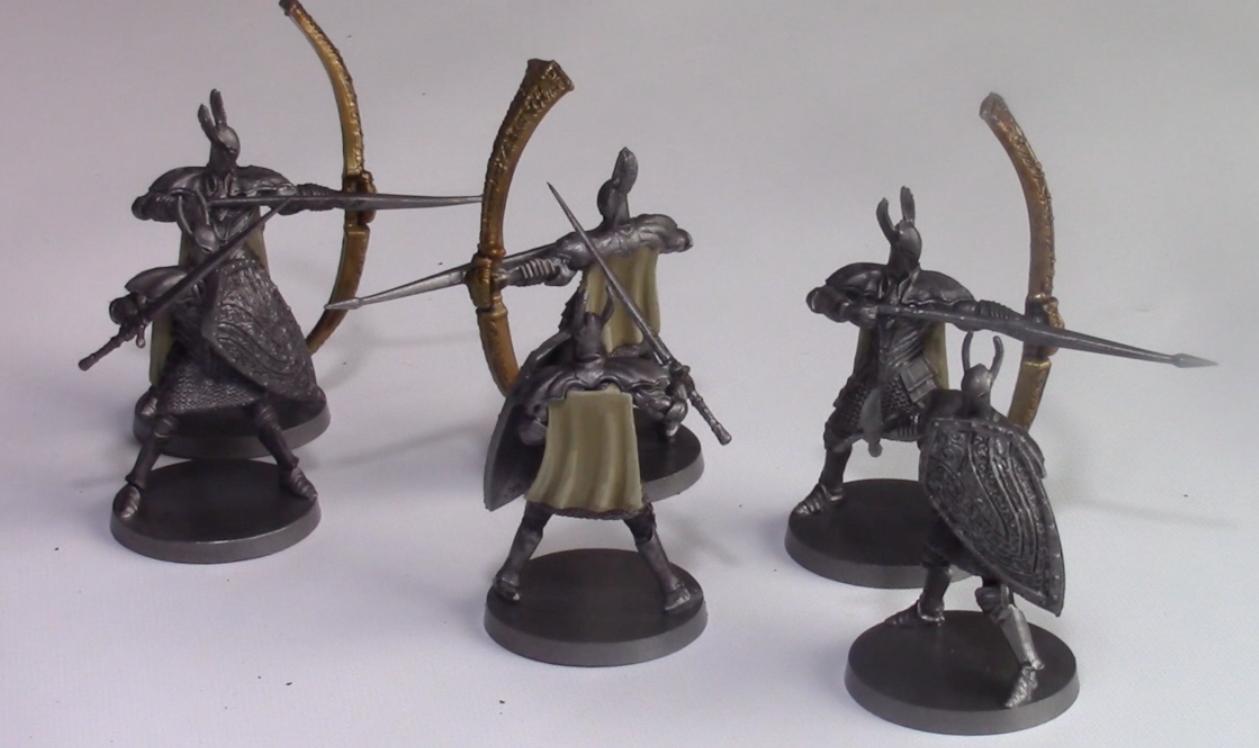 Silver Knight Swordsmen/Great Bowmen Painting Bundle - Dark Souls