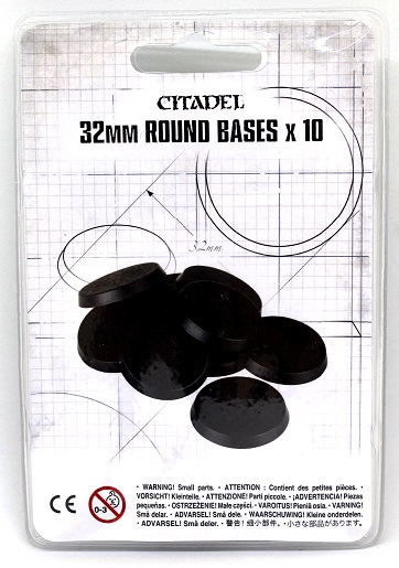 Citadel 32mm Round Bases X10