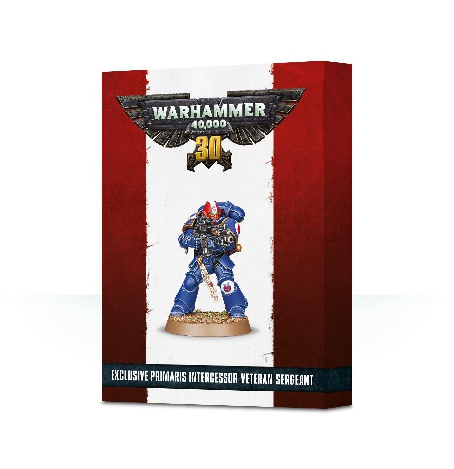 30 Years Of Warhammer 40,000 Primaris Veteran Sergeant