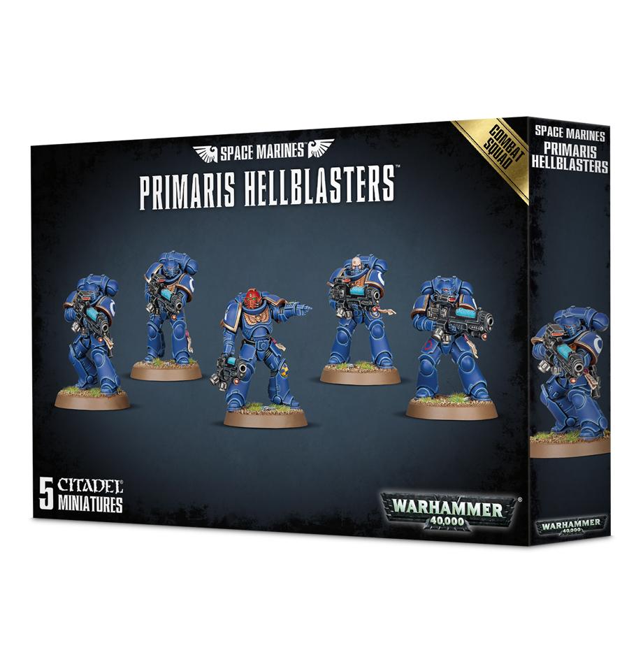 Space Marine Primaris Hellblasters Combat Squad