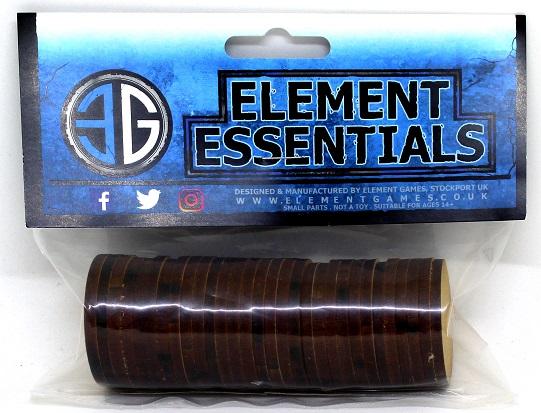 Element 40mm Plain MDF Base Pack of 30