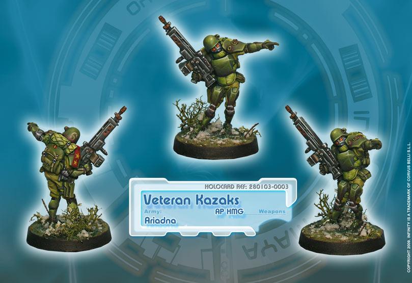 Veteran Kazaks AP HMG New Version