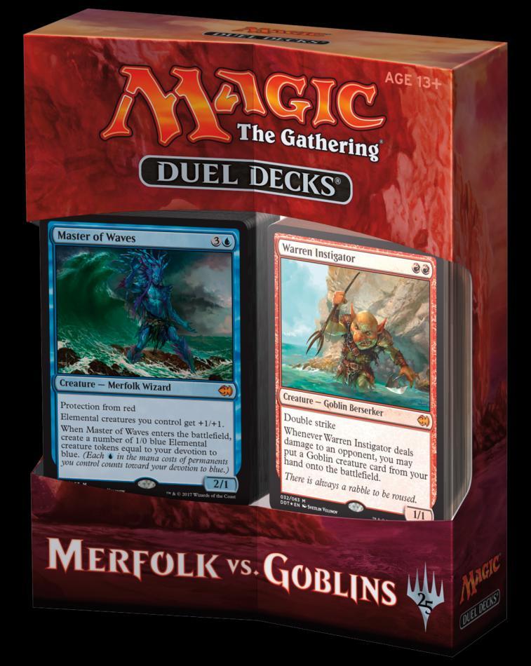 MTG Duel Decks: Merfolk vs Goblins