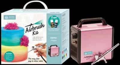 Squires Kitchen Airbrush Kit (Sakura Pink)