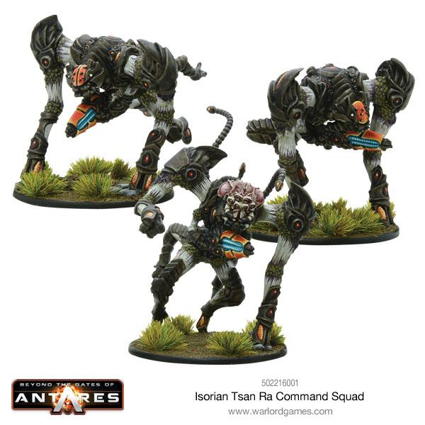 Tsan Ra Command Squad