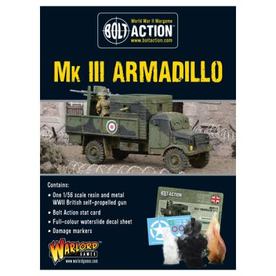 Armadillo Mk III Improvised Vehicle (Limited availability)