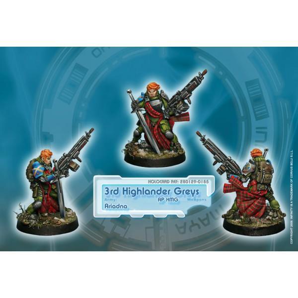 3rd Highlander Rifles AP HMG