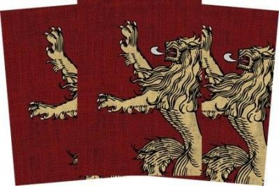 AGOT House Lannister Art Sleeve