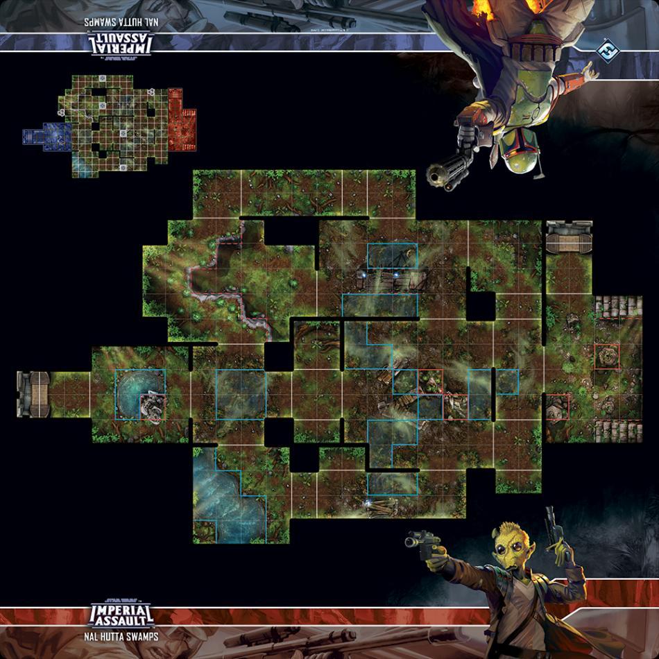 Skirmish Map - Nal Hutta Swamps: Star Wars Imperial Assault