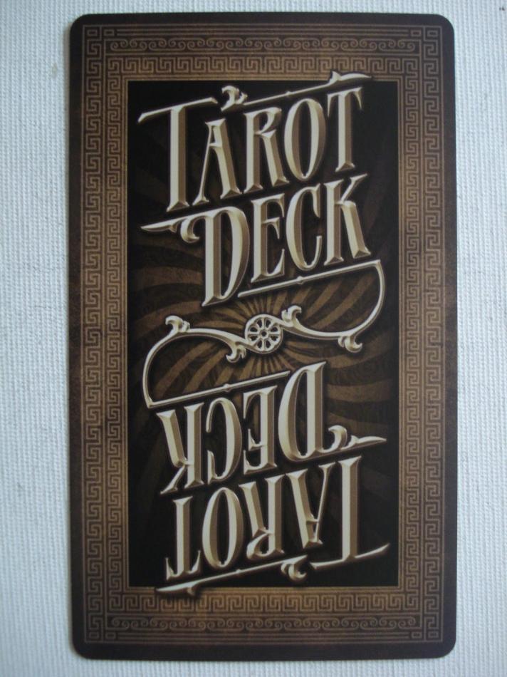 Tarot Deck (fate deck)
