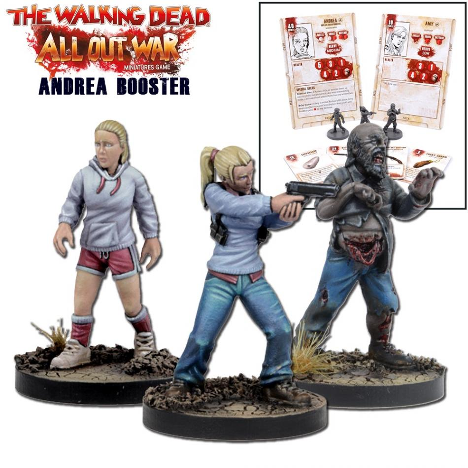 Miniatures Booster Andrea (TWD) (MGWD013)