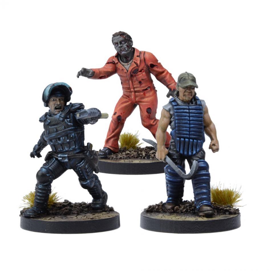 Miniatures Booster Rick, Prison Advisor (TWD)