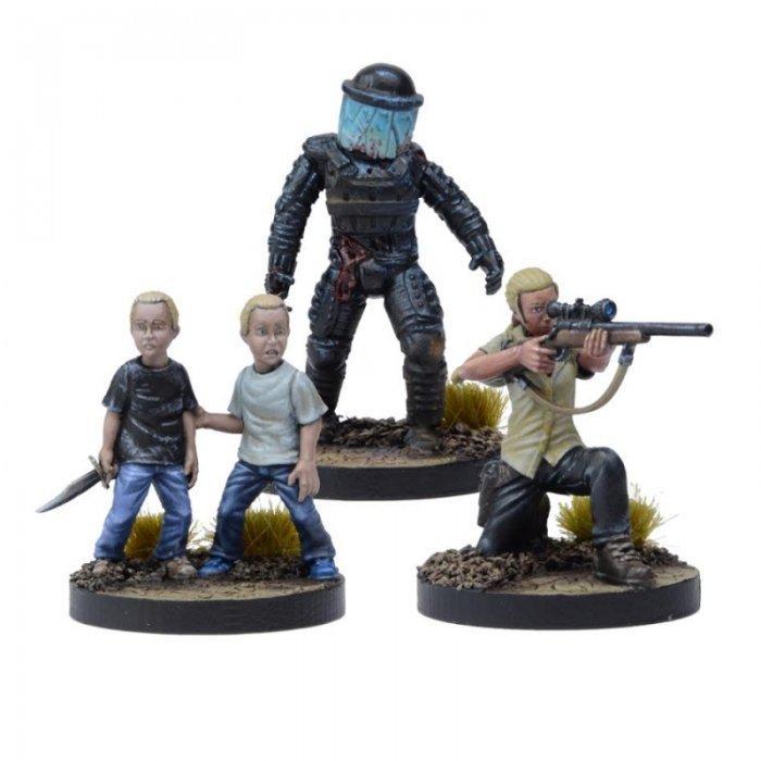 Miniatures Booster Andrea, Prison Sniper (TWD)