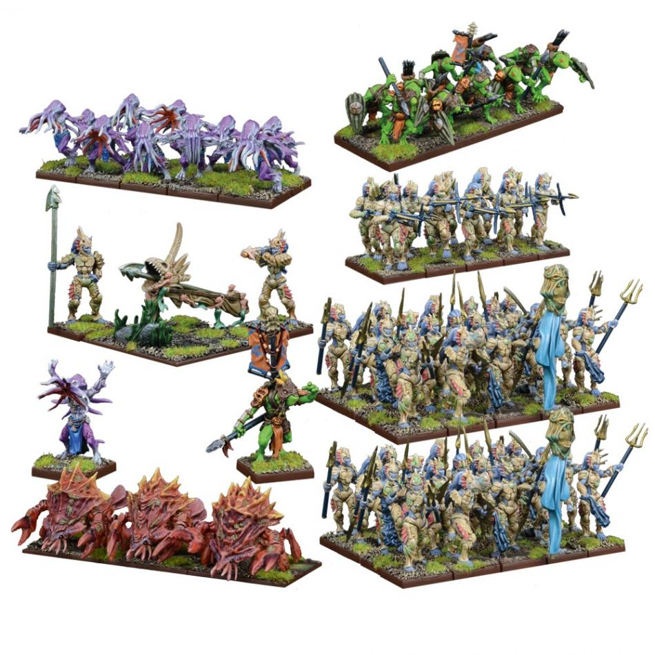 Trident Realms of Nauritica Mega Army
