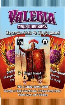 Expansion Pack #1 King's Guard: Valeria Card Kingdoms Exp.