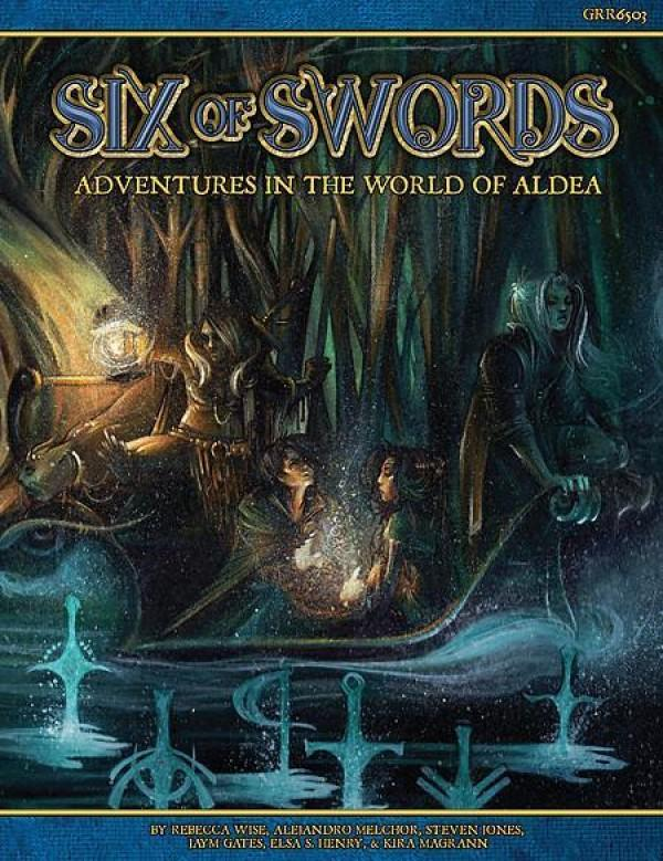 Six of Swords- Blue Rose: The AGE RPG of Romantic Fantasy