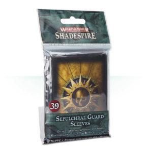 Warhammer Underworlds: Shadespire Sepulchral Guard Sleeves