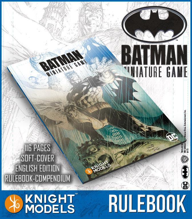 Batman Miniature Game Rulebook V2 (English)