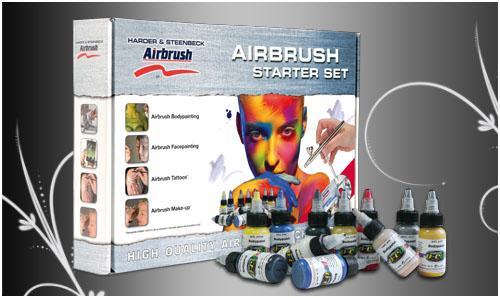 Airbrush Starter Set Body Edition