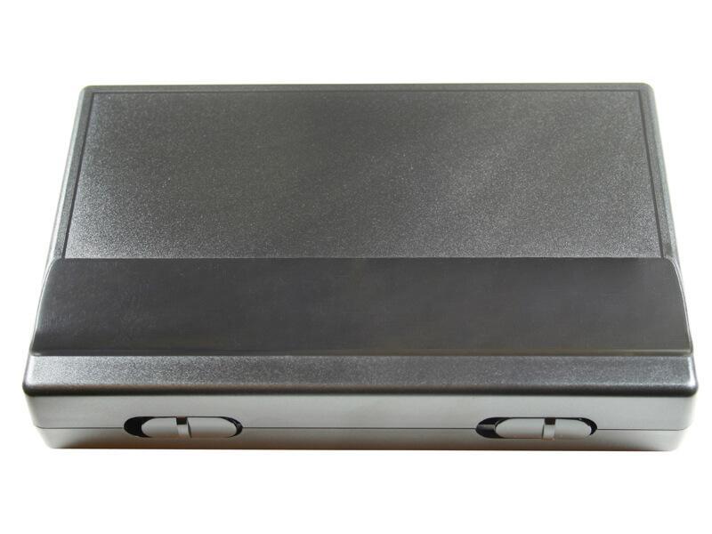 Case 235 X 185 X 48 mm, Black / Transparent For Xl2000, Evolution Silverline M And Hansa 681 Set