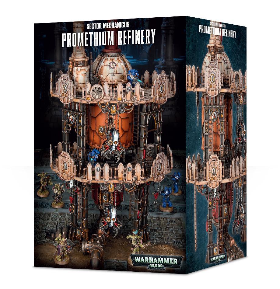 Warhammer 40000: Promethium Refinery