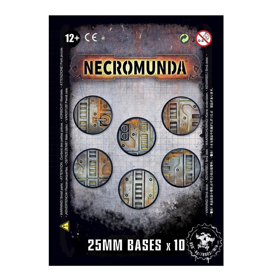 Necromunda 25mm Bases