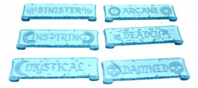 Element Essentials Fantasy Scenery Tokens (Pack of 18)