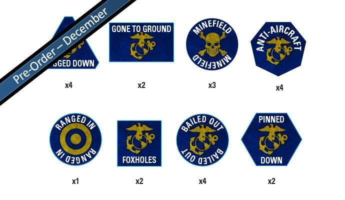 Marine Tokens Set (22 Tokens)