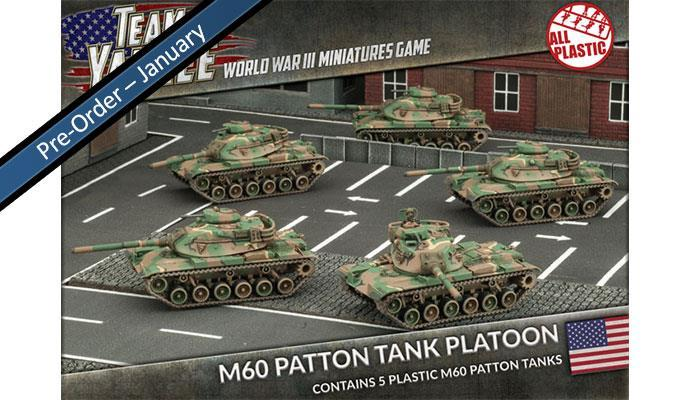 M60A1 and A3 (5x Plastic)
