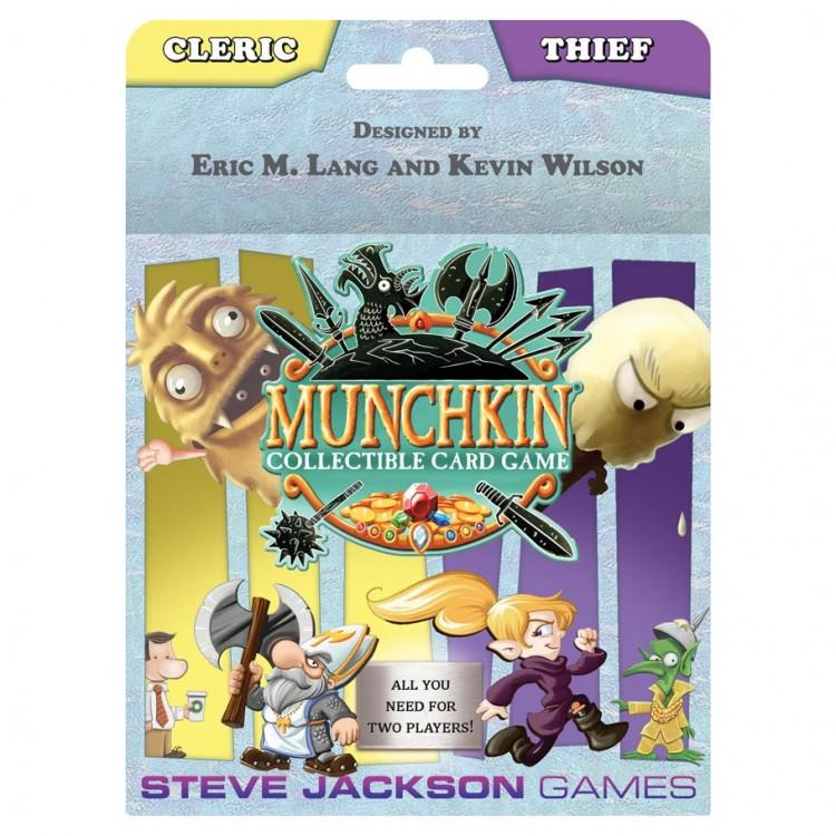Cleric and Thief Starter Set: Munchkin CCG