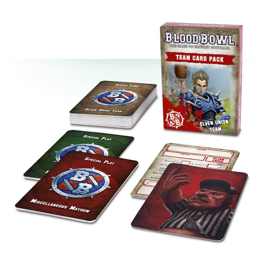 Blood Bowl: Elven Union Cards (English)