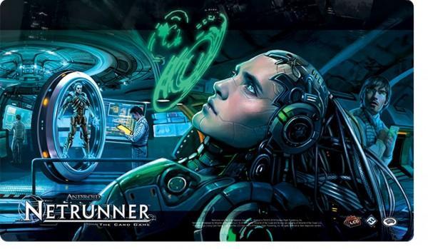 NetRunner: Creation & Control Playmat (POD)