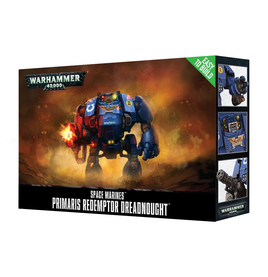 Easy to Build Space Marines Primaris Redemptor Dreadnought