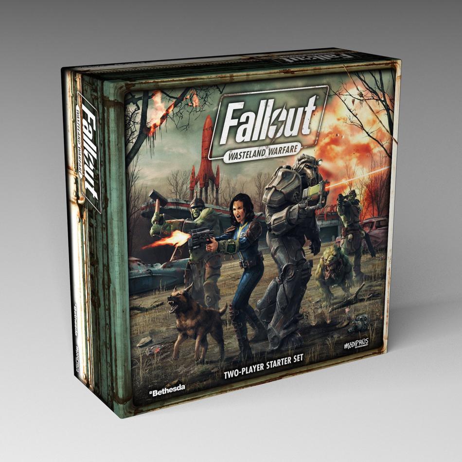 Fallout: Wasteland Warfare: Wasteland Warfare Two Player Starter Set