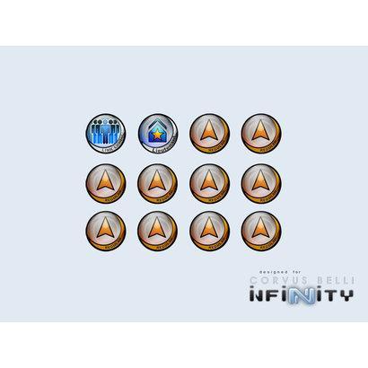 Infinity Tokens Regular (12) ORANGE