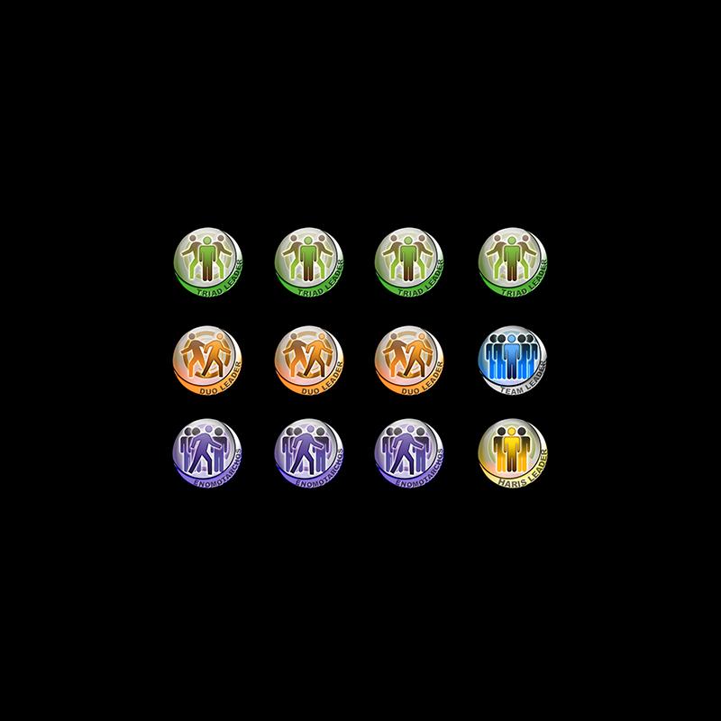 Infinity Token Set Fireteams (12)