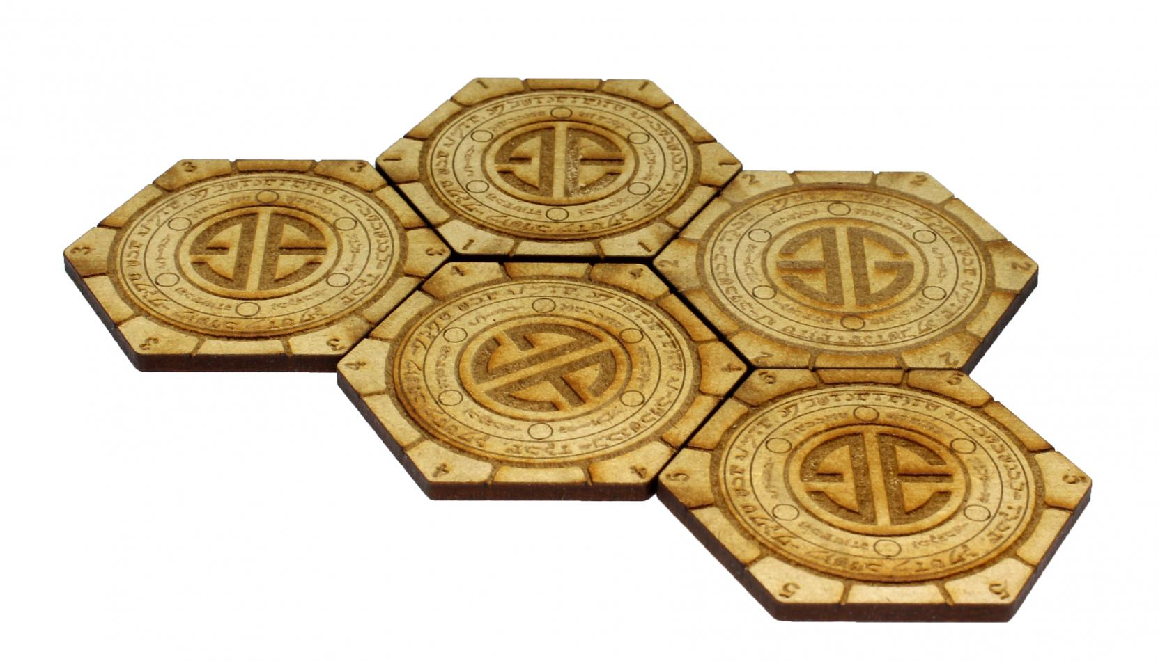 Element Essentials Shadespire Objective Tiles