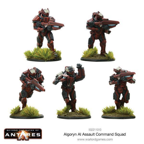 Algoryn Assault Squad Command