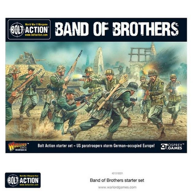 Bolt Action 2 Starter Set Band of Brothers - Italian