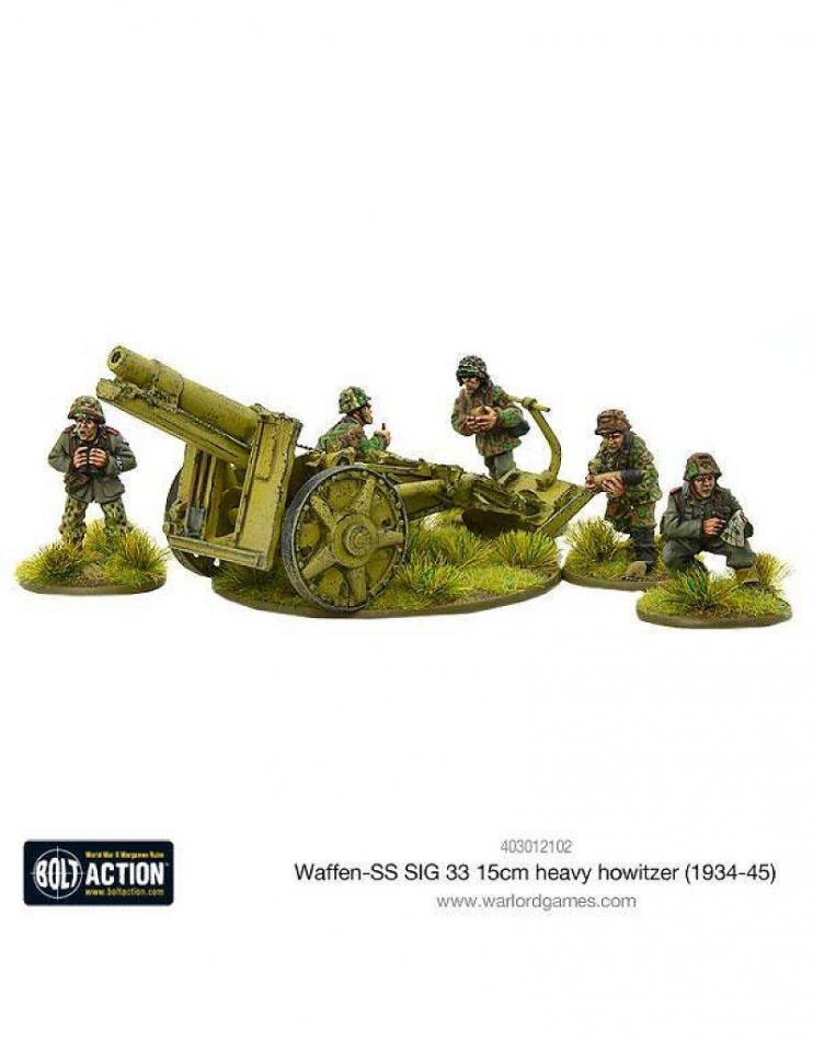 Waffen-SS SIG 33 15cm heavy howitzer