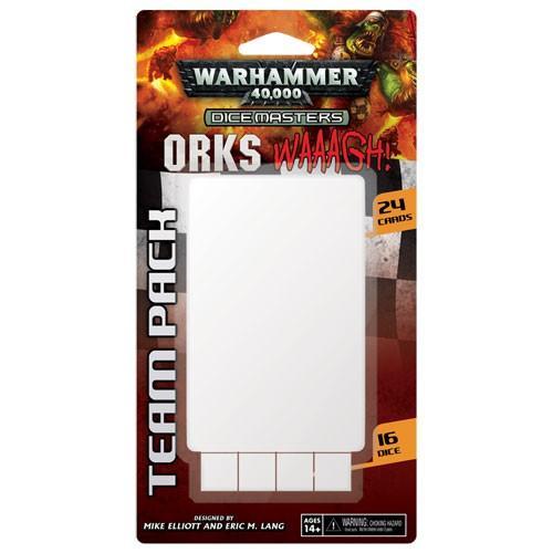 Orks � WAAAGH! Team Pack: Warhammer 40,000 Dice Masters